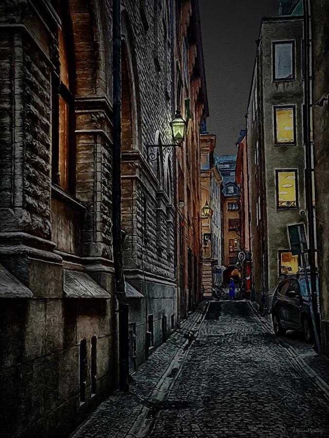 Gamla stan in the night by Ramon Martinez