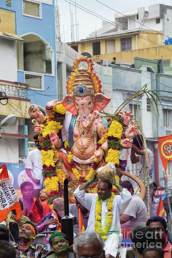 Ganesh Festival by Tim Gainey