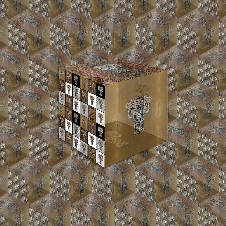 Ganesha Cube by Diego Taborda