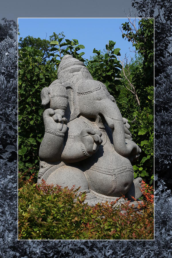 Ganesha in the Garden by Debi Dalio