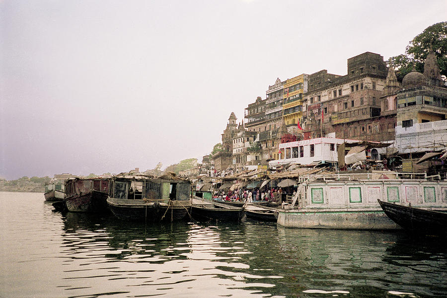 Ganges River, Varanasi, India. by Pete Hendley