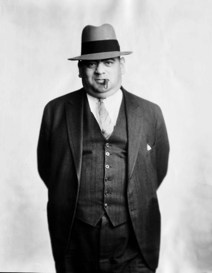 Gangster Sam Chowderhead Cohen Photograph by New York Daily News Archive