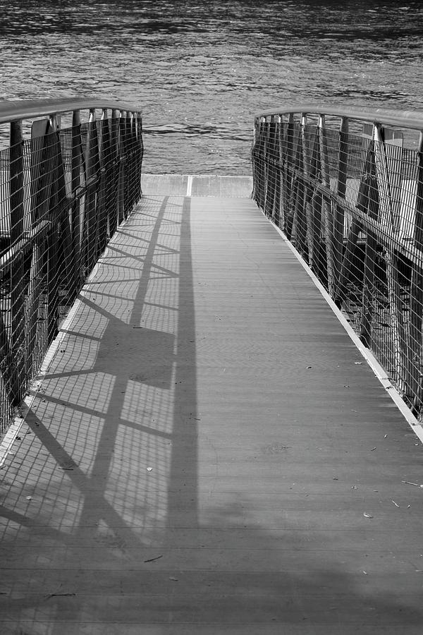 Gangway in Black and White by T Lynn Dodsworth