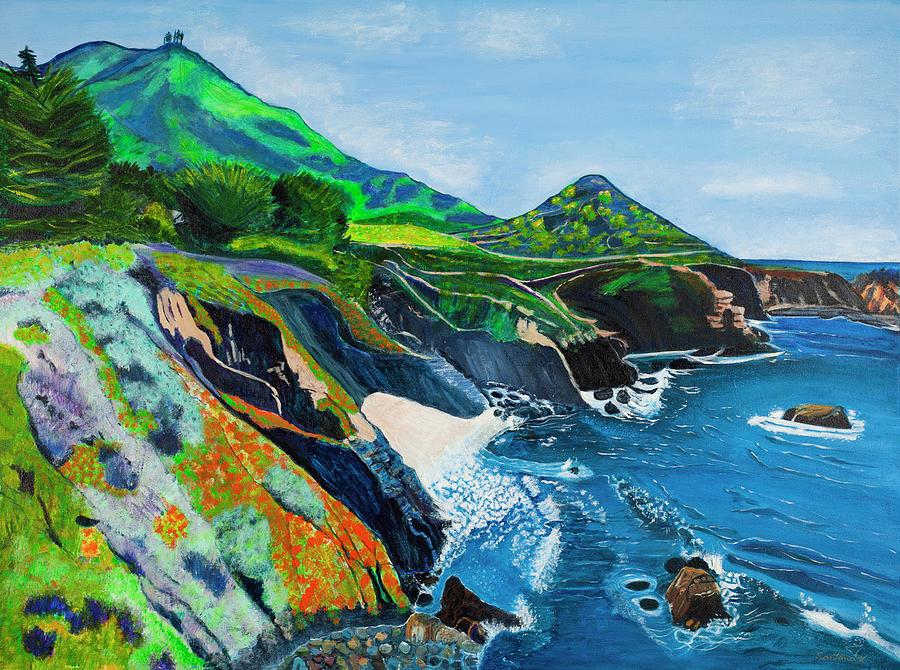 Garapata Coast by Santana Star