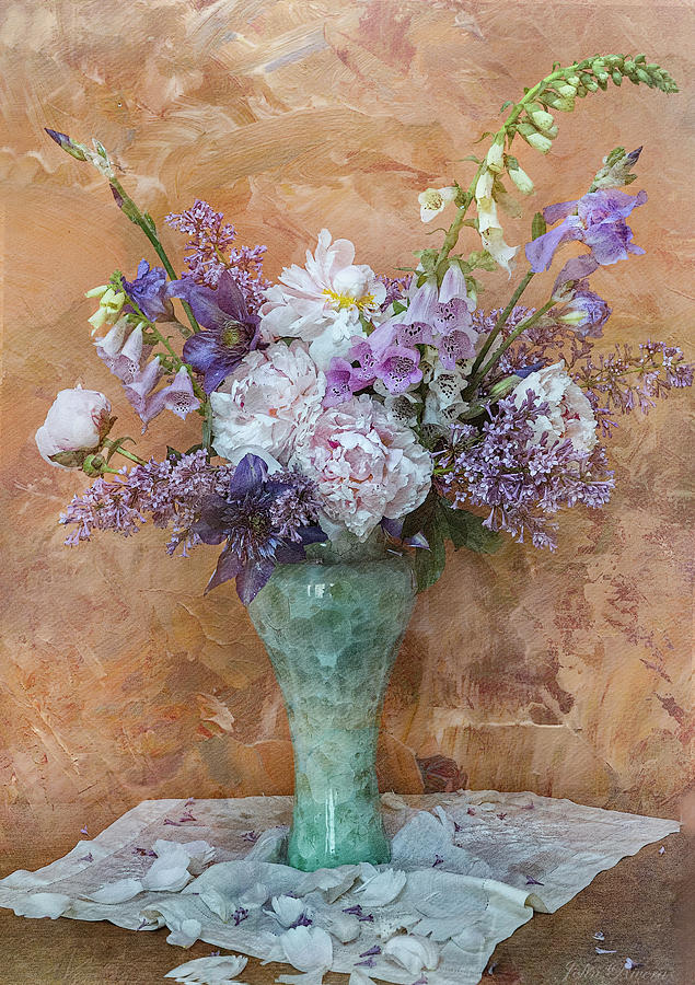 Garden Beauties by John Rivera