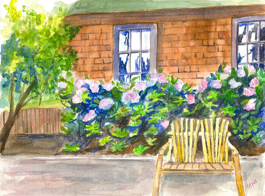 Garden Chair by Clara Sue Beym