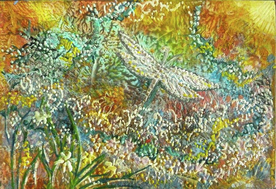 Garden Dragonfly by Jean Batzell Fitzgerald
