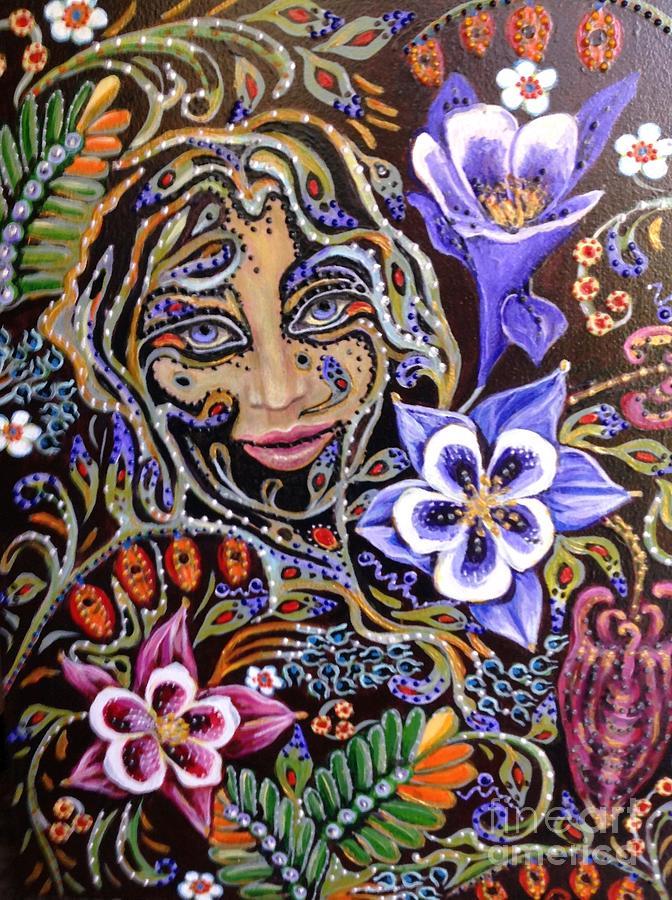 Garden Fairy by Linda Markwardt