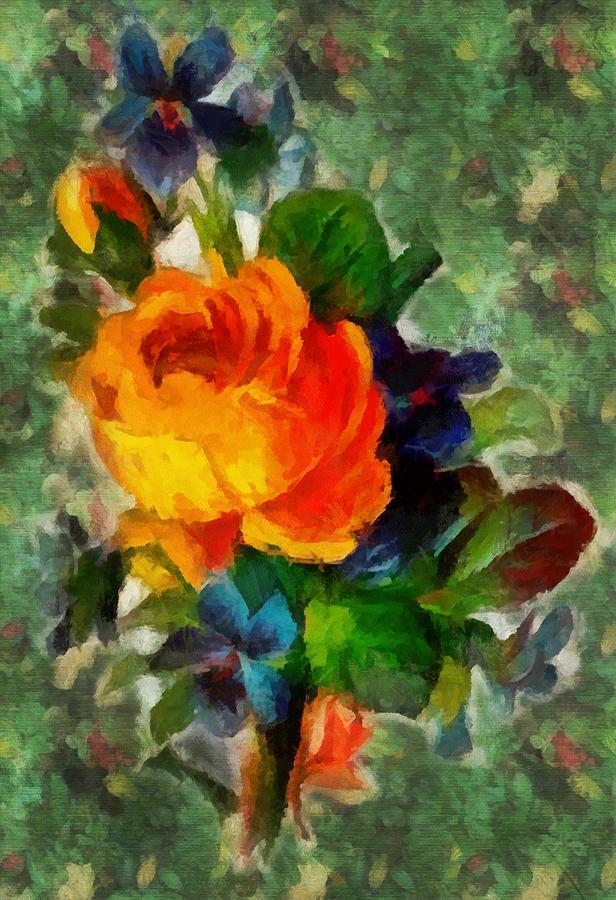 Garden Flowers by Mario Carini