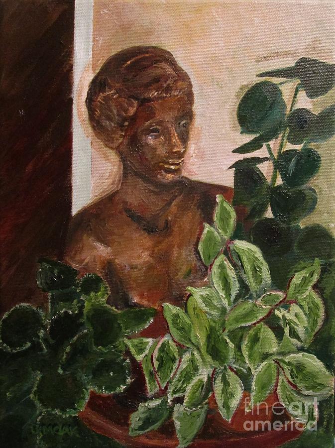 Garden Goddess by Barbara Moak