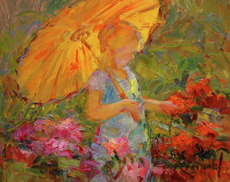 Garden Magic Painting