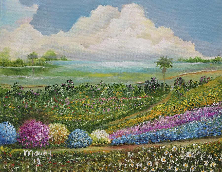 Garden NearThe Lagoon by Alicia Maury