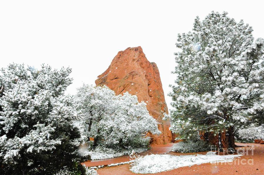 Garden Of The Gods In Snow