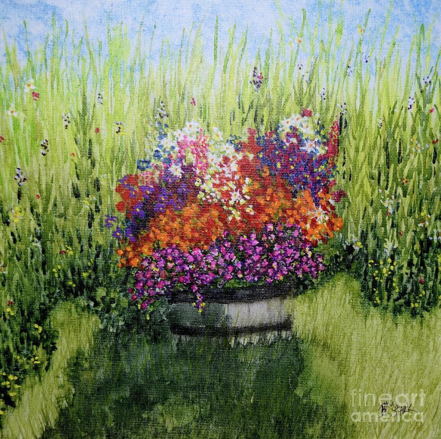 Garden Pot  by Barrie Stark