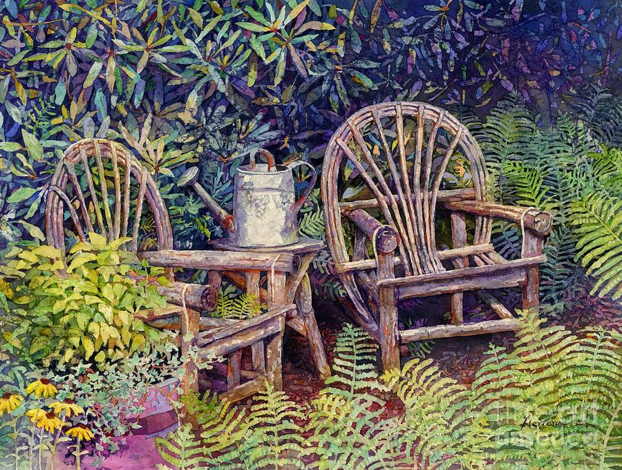 Garden Retreat Painting
