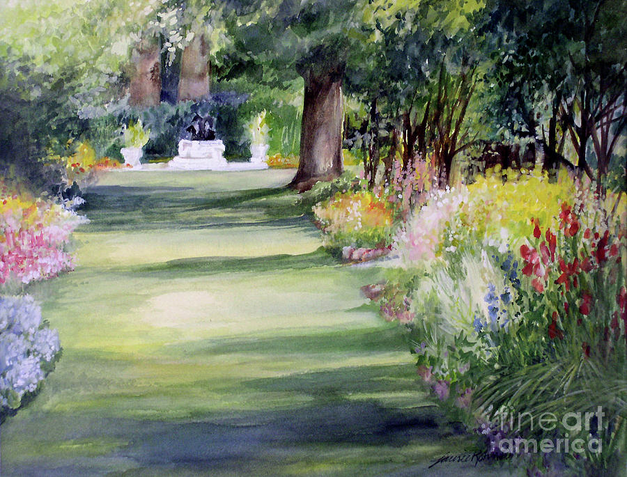Garden Shadows by Laurie Rohner