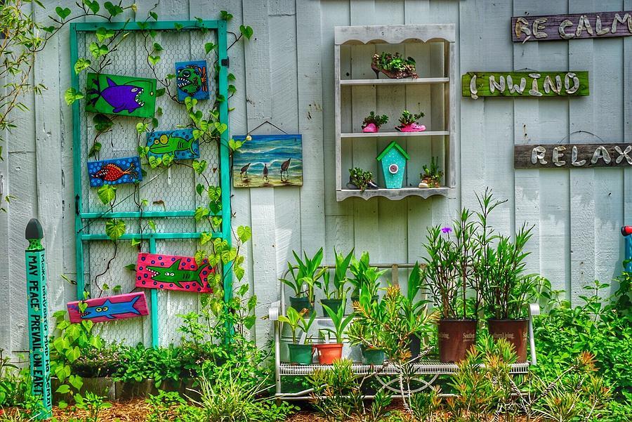 Garden Shop in Port Royal by Patricia Greer