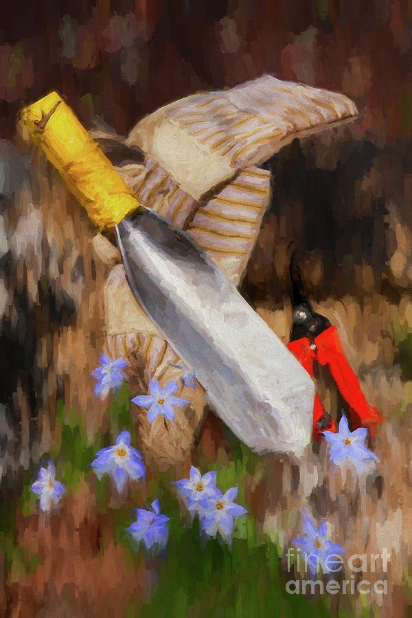 Garden Tools by Dan Carmichael
