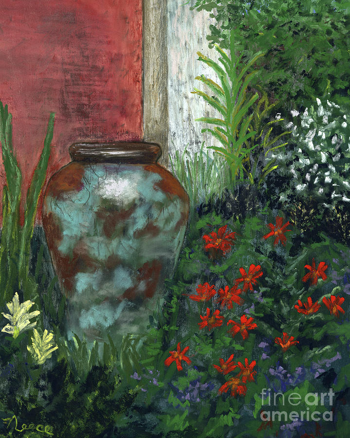 Garden Urn by Ginny Neece