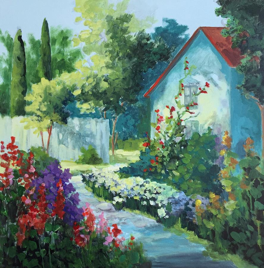Garden Walk by Mary Scott