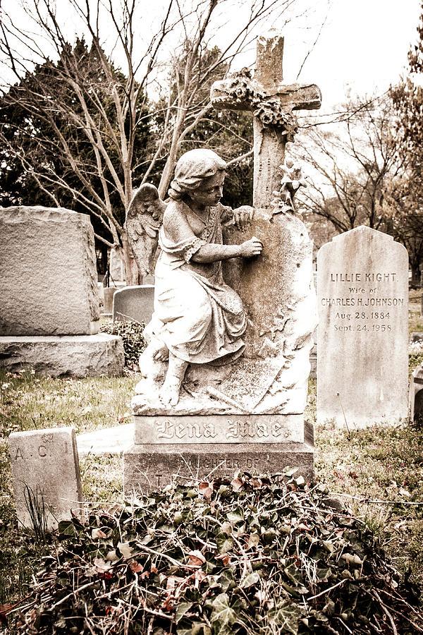 gardening angel by Rose Benson