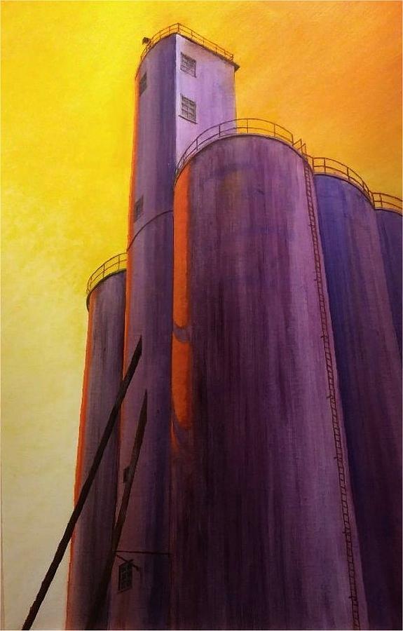 Garfield Silo Painting