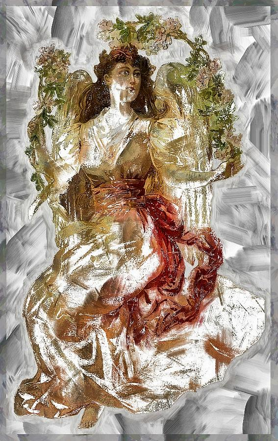 Garland Goddess by Mario Carini
