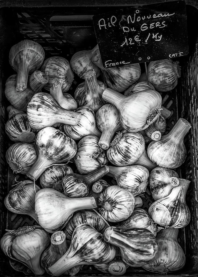 Garlic at the French Market by Georgia Fowler