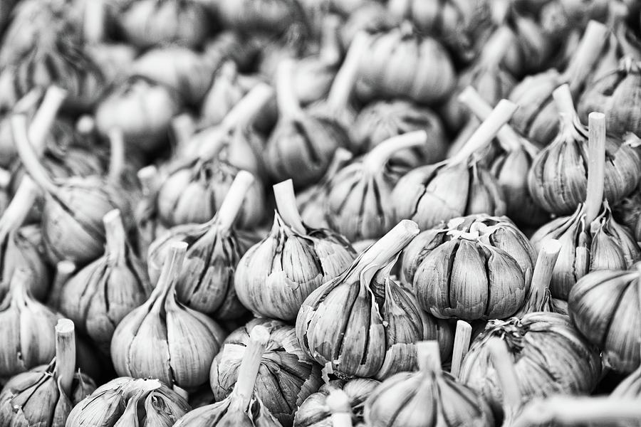Garlic Bulbs - Morocco by Stuart Litoff