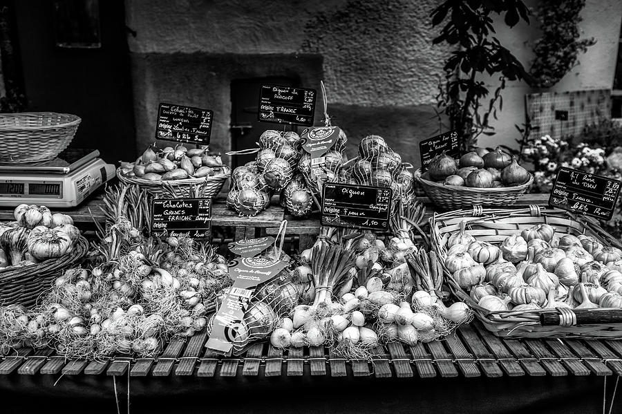 Garlic Varieties at the French Market by Georgia Fowler