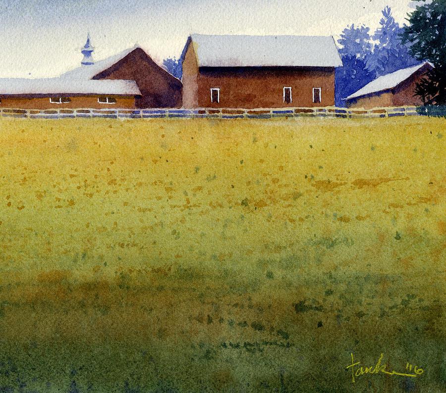 Garner Farm, Mineral Point, WI by James Faecke