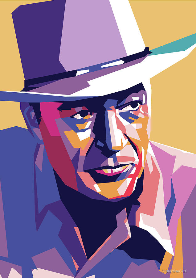 Gary Cooper by Stars on Art