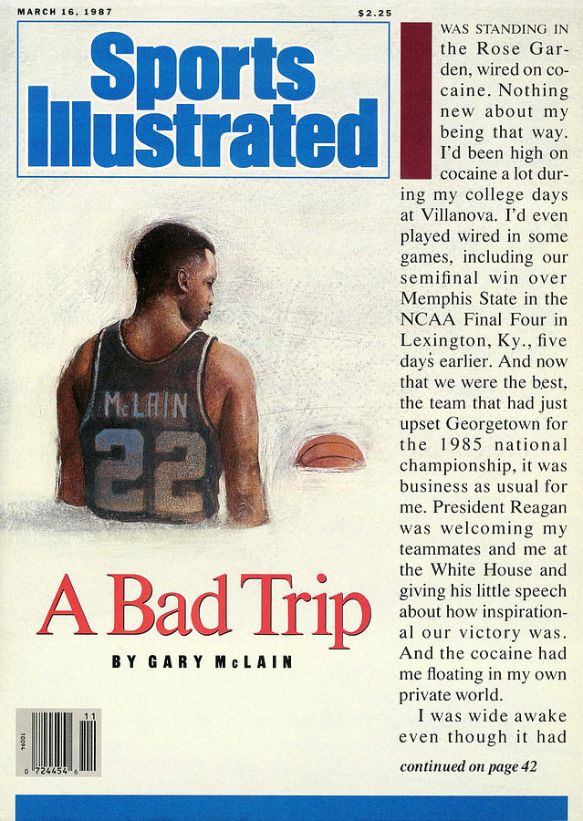 Gary Mclain A Bad Trip Sports Illustrated Cover Photograph by Sports Illustrated