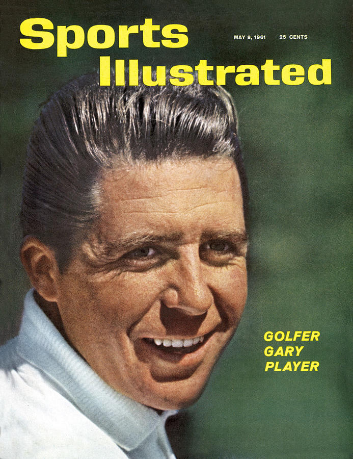 Gary Player, 1961 Masters Tournament Sports Illustrated Cover Photograph by Sports Illustrated