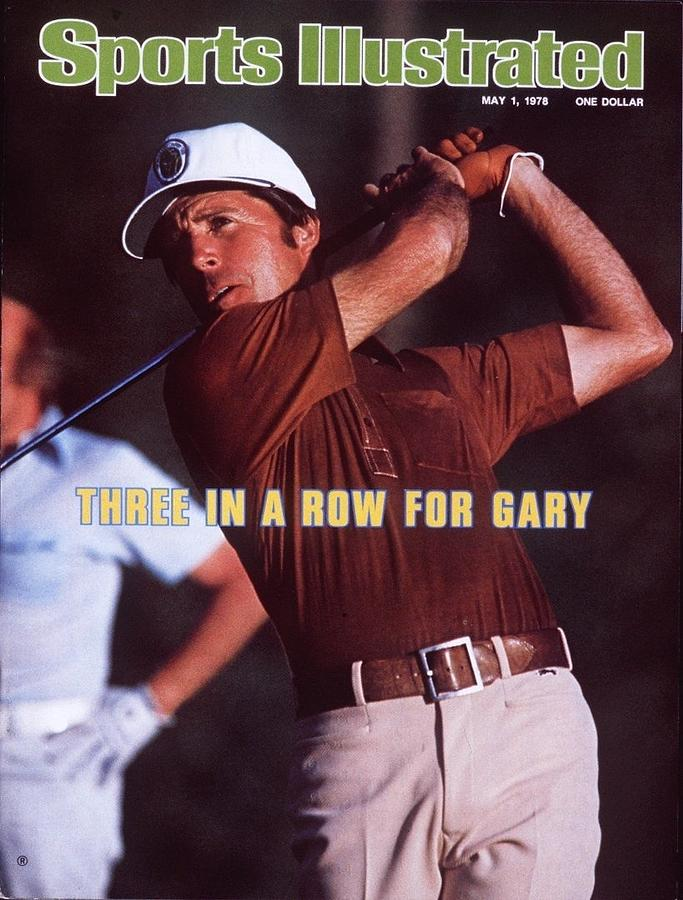 Gary Player, 1978 Houston Open Sports Illustrated Cover Photograph by Sports Illustrated