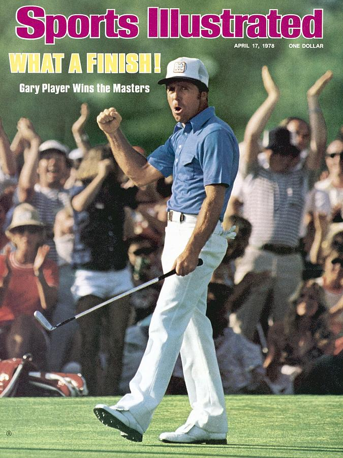 Gary Player, 1978 Masters Sports Illustrated Cover Photograph by Sports Illustrated