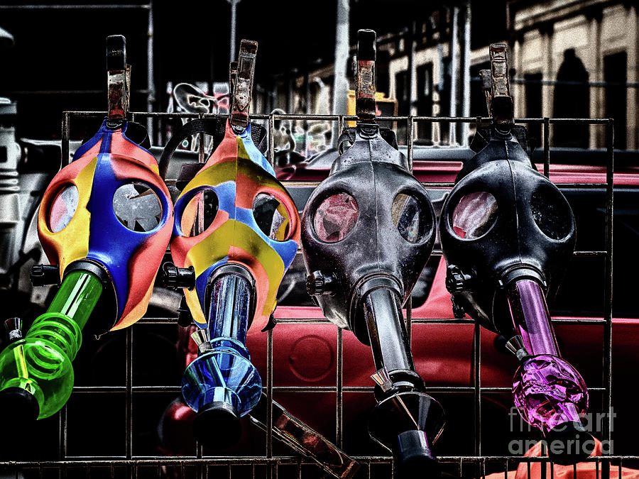 Gas Masks by Robin Zygelman