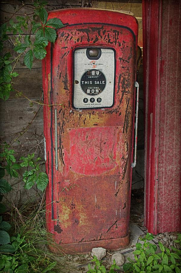 Gas Pump Relic by Guy Whiteley