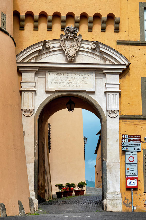 Gate in Castel Gandolfo by Fabrizio Troiani