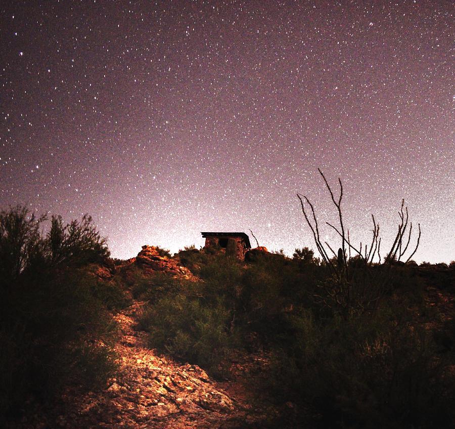 Gates Pass Scenic Lookout Stars by Chance Kafka