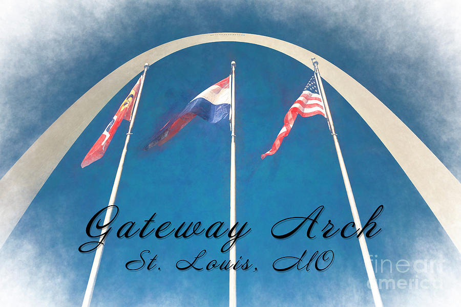 Gateway Arch #2 by Pam  Holdsworth