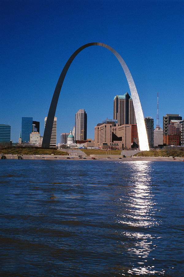 Gateway Arch In St Louis, Missouri Photograph by Stockbyte