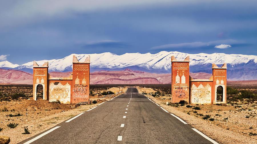 Gateway Between Provinces - Morocco by Stuart Litoff