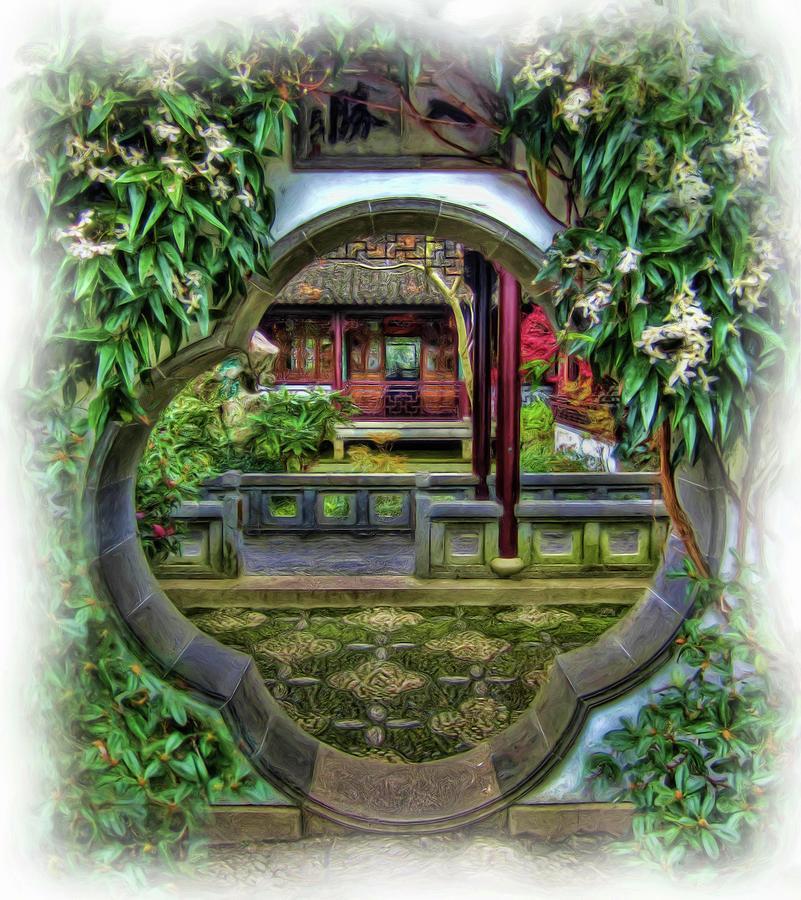 A Window To The Garden by Thom Zehrfeld