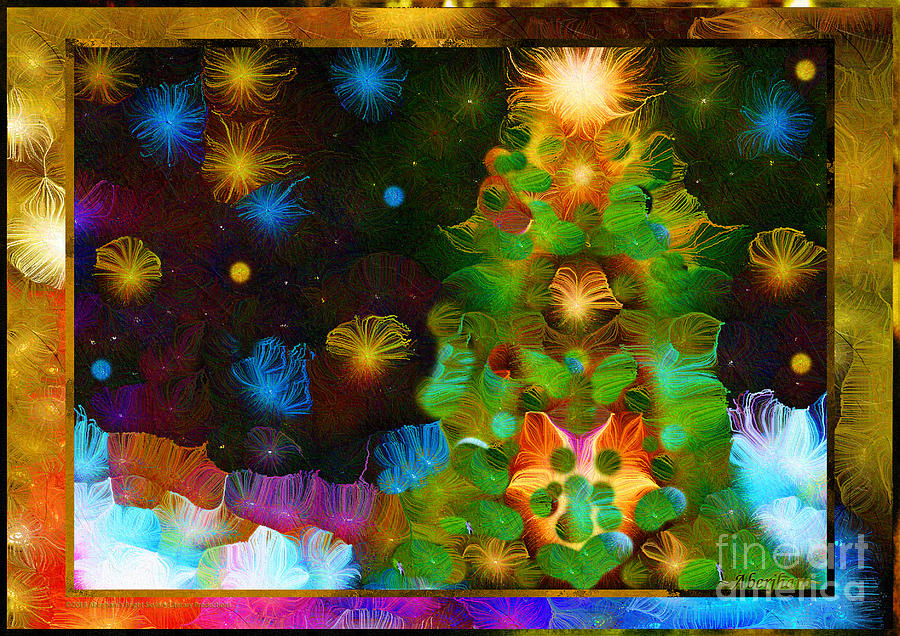 Gathering Around The Tree Of Our Shared Humanity Number 1 Mixed Media