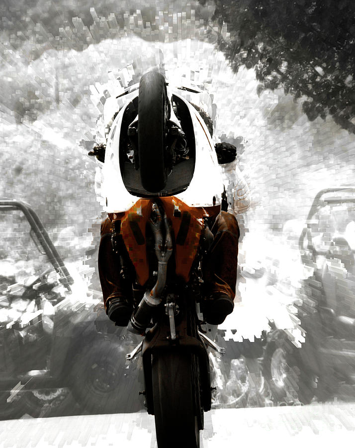 Motorcycles Photograph - Gathering Up The Beast  by Steven Digman