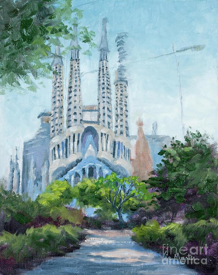 Gaudi Church - La Sagrada Familia by Vic Mastis