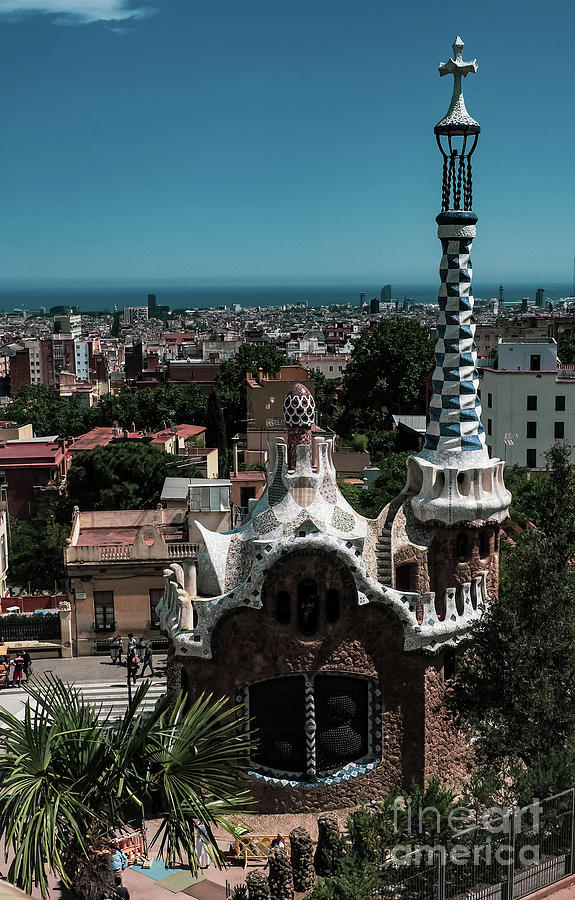 Gaudi Park and Barcelona  by Mary Capriole