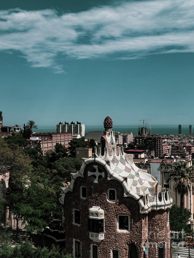 Gaudi Park in Barcelona by Mary Capriole