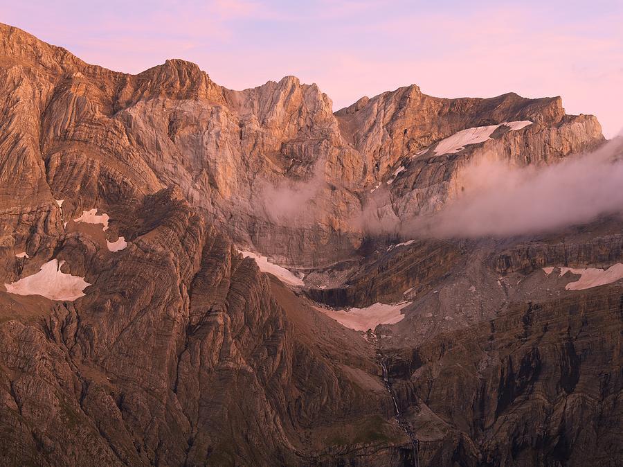 Gavarnie Alpen Glow by Stephen Taylor